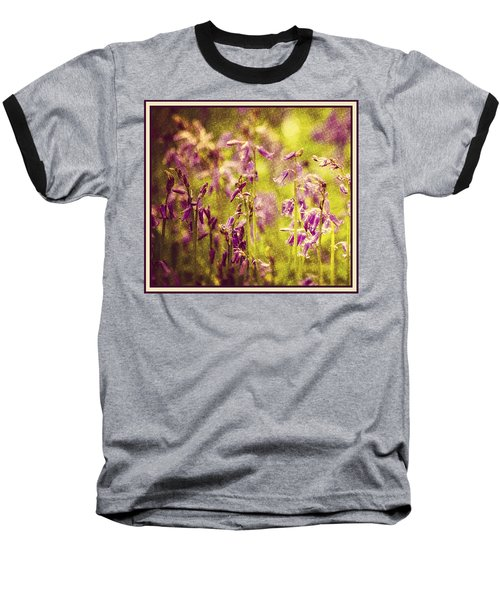 Bluebell In The Woods Baseball T-Shirt by Spikey Mouse Photography