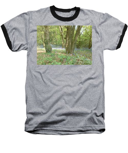 Baseball T-Shirt featuring the photograph Bluebell Wood by John Williams