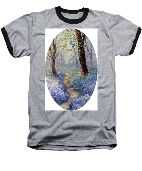 Bluebell Wood Baseball T-Shirt