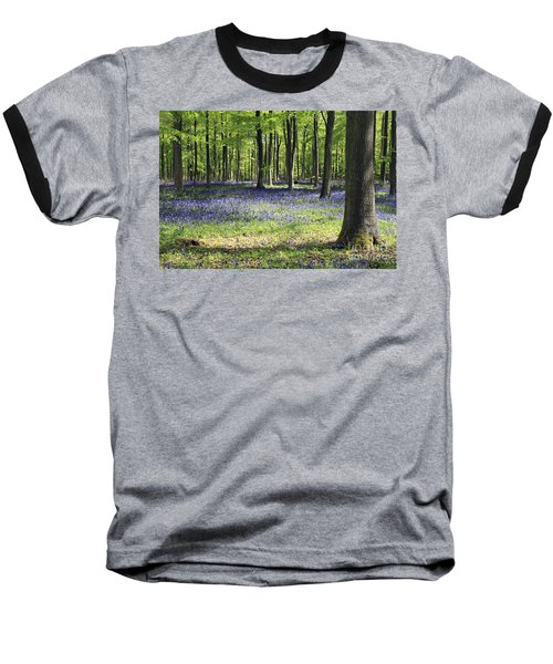 Bluebell Wood Uk Baseball T-Shirt