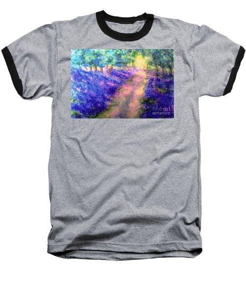 Bluebell Woods Baseball T-Shirt by Hazel Holland