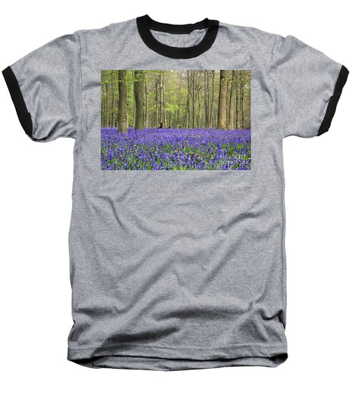 Bluebells Surrey England Uk Baseball T-Shirt