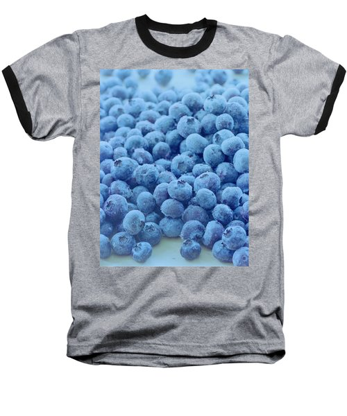 Blueberries Baseball T-Shirt