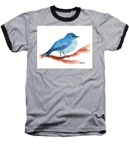 Bluebird Baseball T-Shirt by C Sitton