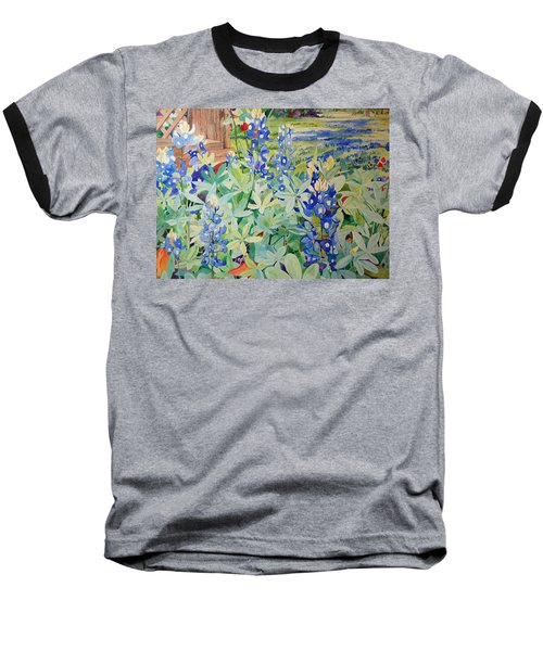 Bluebonnet Beauties Baseball T-Shirt