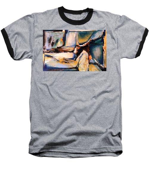 Blues And Orange Baseball T-Shirt