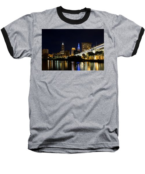 Blues In Cleveland Ohio Baseball T-Shirt