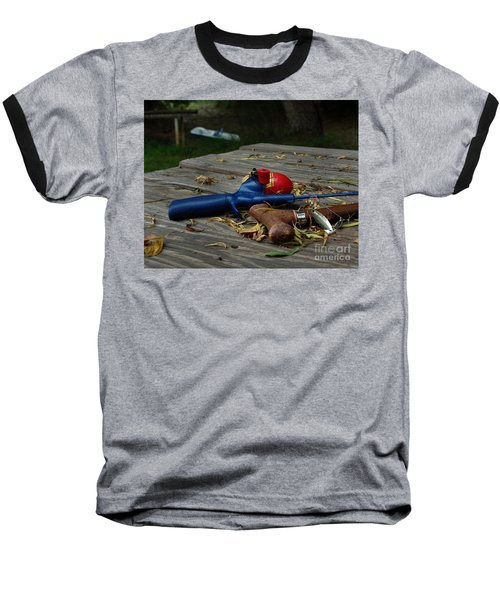 Baseball T-Shirt featuring the photograph Blured Memories 02 by Peter Piatt