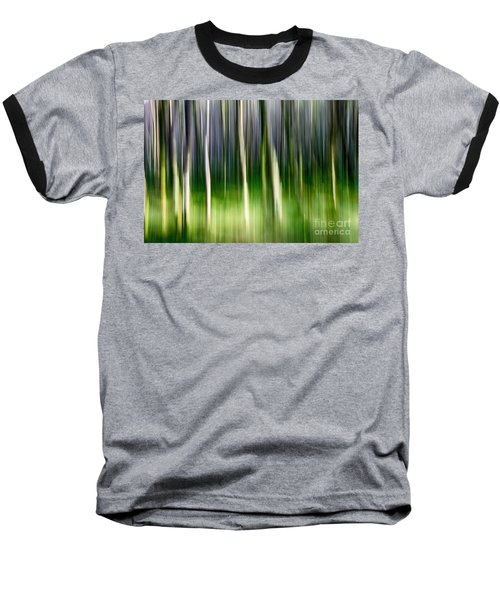 Baseball T-Shirt featuring the photograph Blurred by Juergen Klust