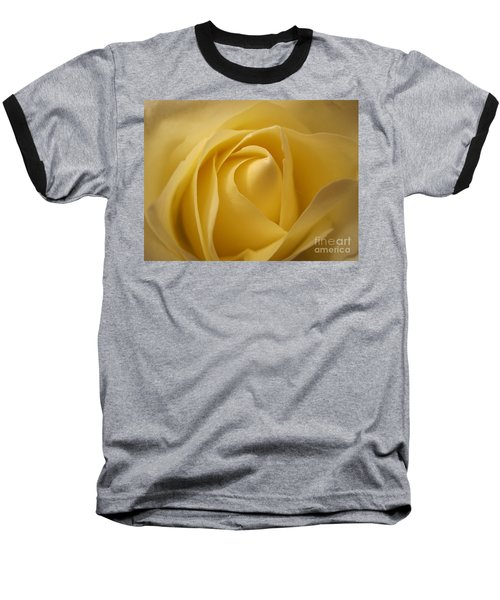 Blushing Cream Rose  Baseball T-Shirt