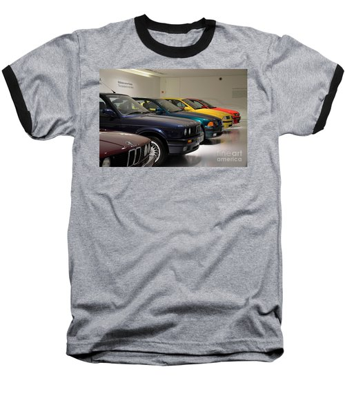 Bmw Cars Through The Years Munich Germany Baseball T-Shirt by Imran Ahmed