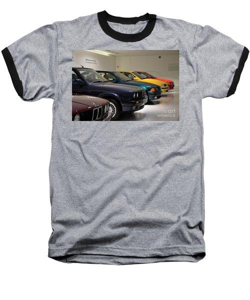 Bmw Cars Through The Years Munich Germany Baseball T-Shirt