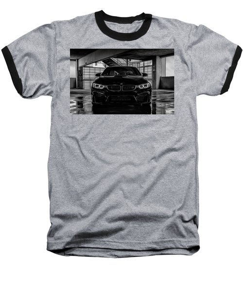 Baseball T-Shirt featuring the digital art Bmw M4 by Douglas Pittman