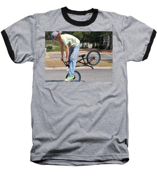 Bmx Rider Baseball T-Shirt