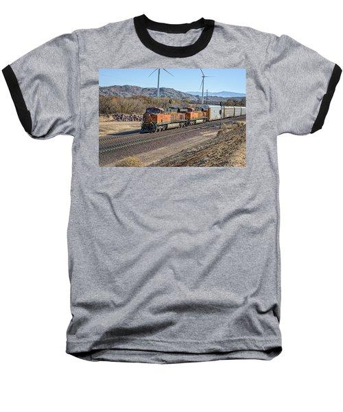 Bnsf 7454 Baseball T-Shirt by Jim Thompson