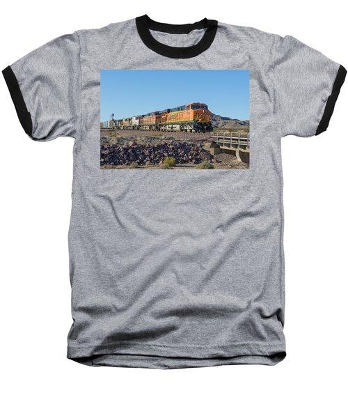 Bnsf 7649 Baseball T-Shirt by Jim Thompson