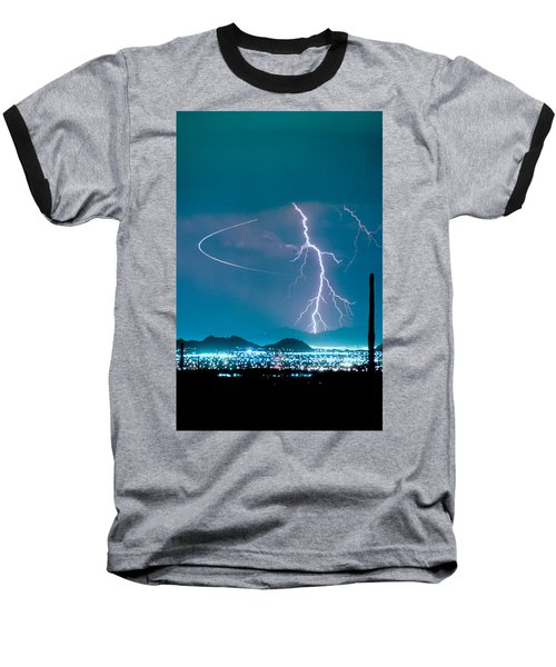 Bo Trek The Lightning Man Baseball T-Shirt