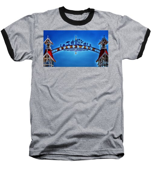 Boardwalk Arch In Ocean City Baseball T-Shirt