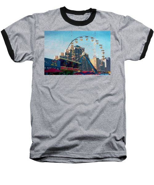 Boardwalk Ferris  Baseball T-Shirt