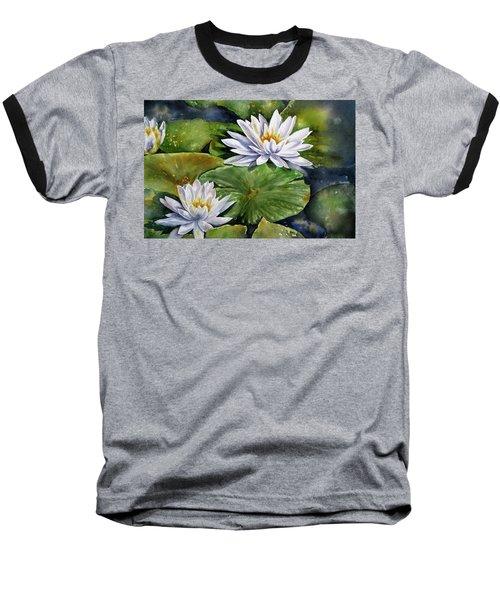 Boardwalk Lilies Baseball T-Shirt