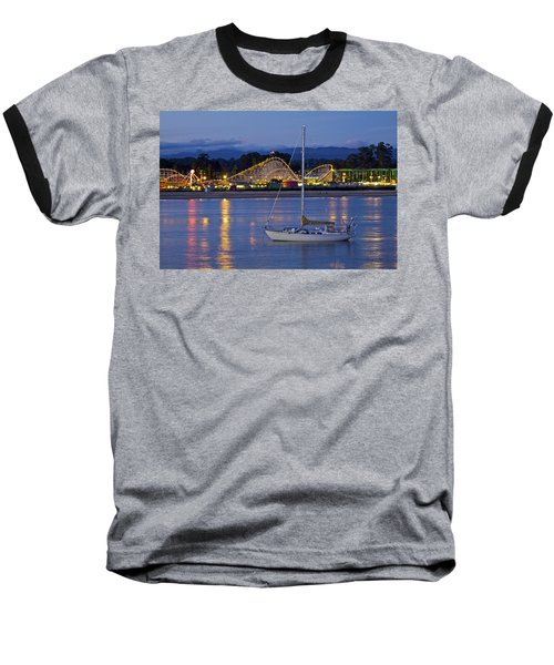 Boat At Twilight Baseball T-Shirt