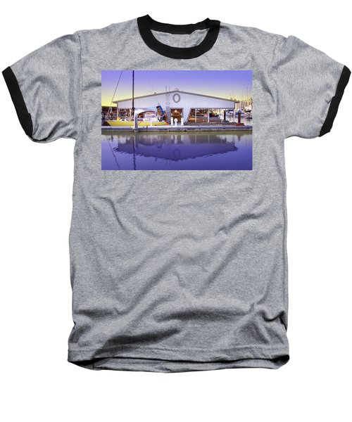 Baseball T-Shirt featuring the photograph Boat House by Sonya Lang