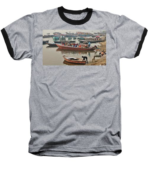 The Journey - Varanasi India Baseball T-Shirt
