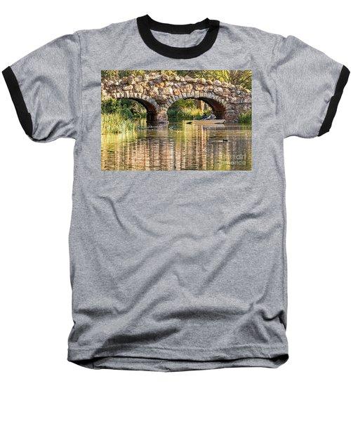 Boaters Under The Bridge Baseball T-Shirt