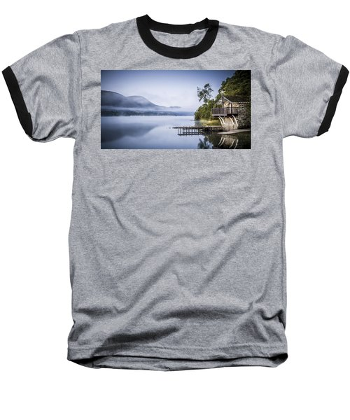 Boathouse At Pooley Bridge Baseball T-Shirt