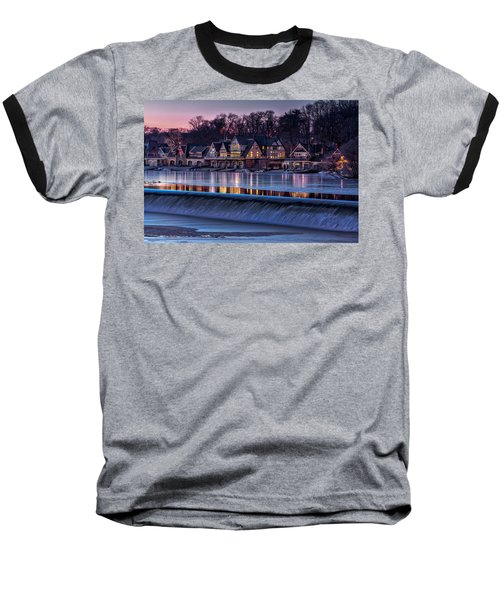 Boathouse Row Baseball T-Shirt