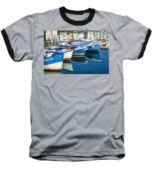 Boats At Anchor Baseball T-Shirt