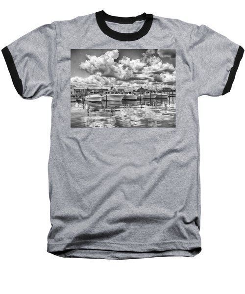 Baseball T-Shirt featuring the photograph Boats by Howard Salmon