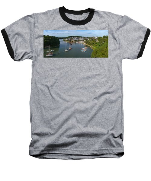Boats In The Sea, Le Bono, Gulf Of Baseball T-Shirt by Panoramic Images