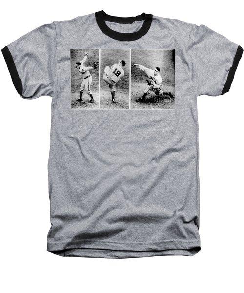 Bob Feller Pitching Baseball T-Shirt