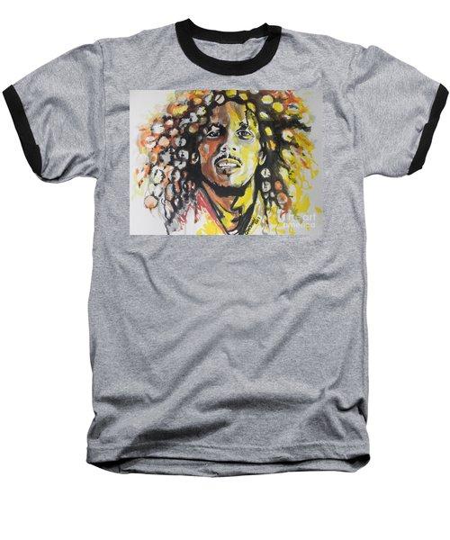 Bob Marley 02 Baseball T-Shirt