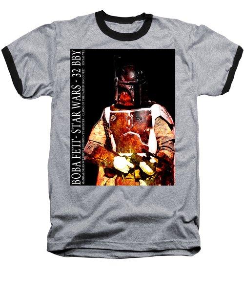 Boba Fett Baseball T-Shirt