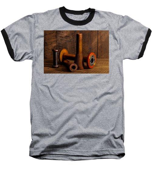 Bobbins And Spools Baseball T-Shirt