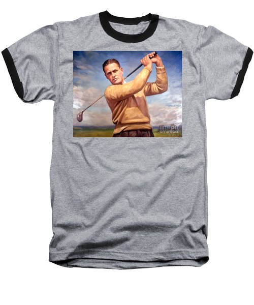 bobby Jones Baseball T-Shirt by Tim Gilliland