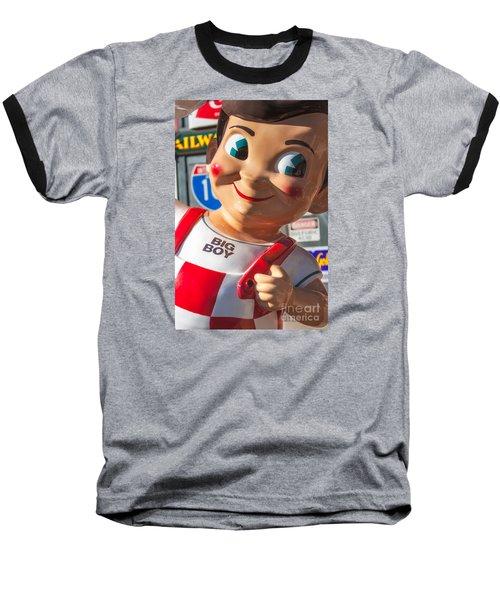 Bob's Big Boy Baseball T-Shirt by Jerry Fornarotto