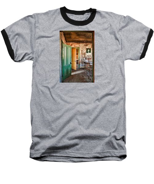 Bodie Doors Baseball T-Shirt by Alice Cahill