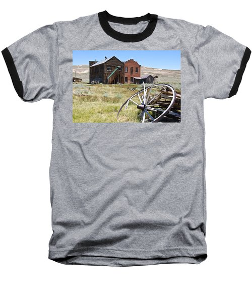 Bodie Ghost Town 3 - Old West Baseball T-Shirt