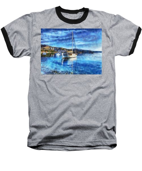 Bodrum Bay In Turkey Baseball T-Shirt