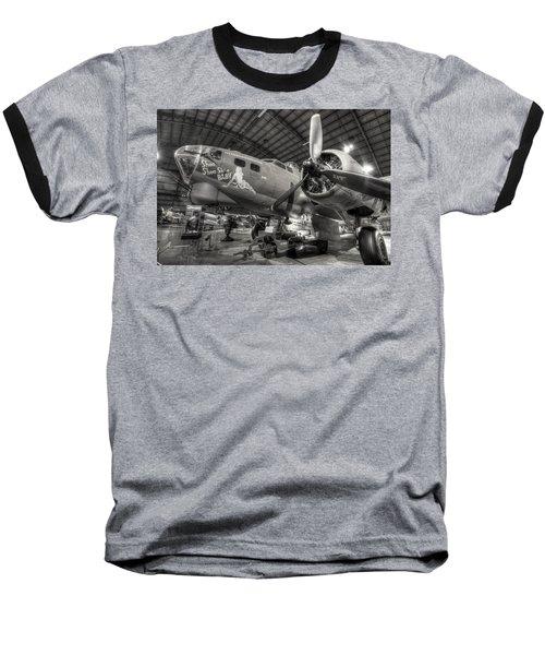 Boeing B-17 Bomber Baseball T-Shirt