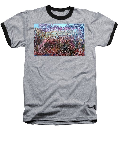 Baseball T-Shirt featuring the painting Bogomils Vegetable Garden  by Otto Rapp