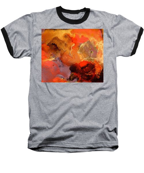 Boiling Lava Baseball T-Shirt