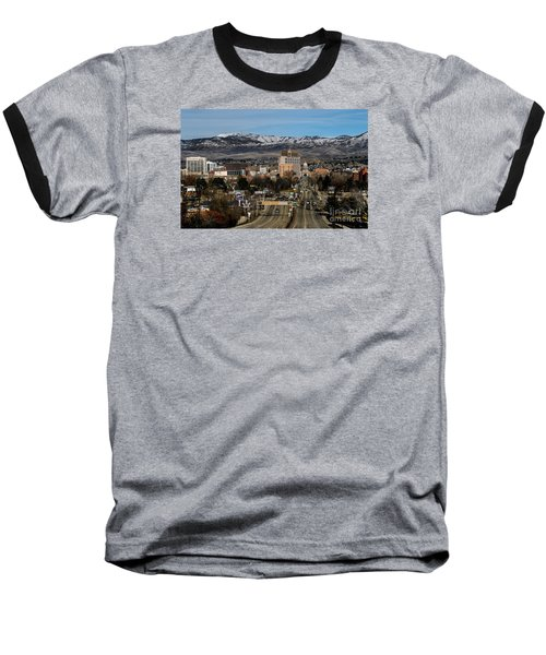 Boise Idaho Baseball T-Shirt by Robert Bales