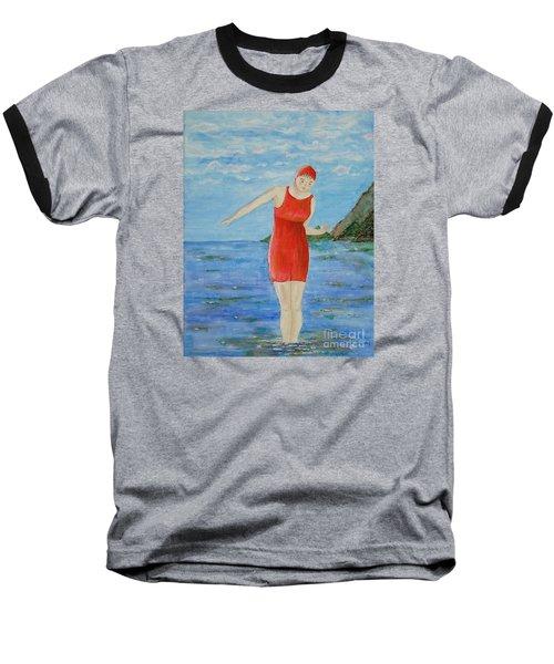 Bold Red Baseball T-Shirt