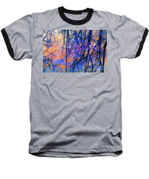 Bold Tree Reflections Baseball T-Shirt