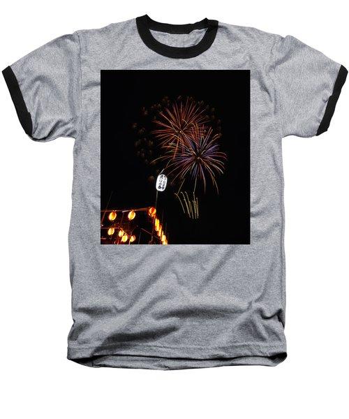 Bon Adori Glow Baseball T-Shirt by John Swartz