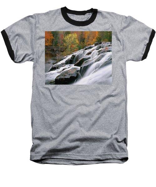 Bond Falls Upper Peninsula Michigan Baseball T-Shirt